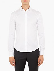Wooyoungmi White Stitching Detail Shirt