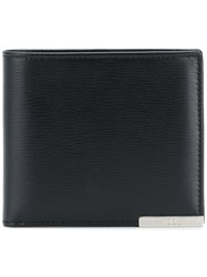 Tod's Billfold Wallet Leather Black