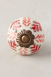 Anthropologie Gardening Indoors Knob Red