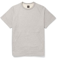 Albam Melange Cotton Jersey Sweatshirt Gray