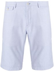 Loro Piana Front Zipped Bermuda Shorts Blue