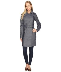 The North Face Kadin Trench Coat Urban Navy Denim Women's Coat