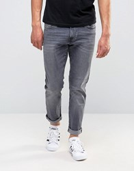Esprit Slim Fit Jeans In Washed Grey Denim Grey 922