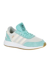 Adidas Originals Iniki Running Trainers Female Green