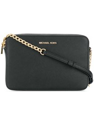 Michael Kors Collection Jet Set Shoulder Bag Black