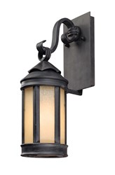 Troy Lighting Andersons Forge Outdoor Wall Lant Gray