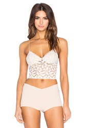 Free People Lacy Lace Bra Cami Ivory
