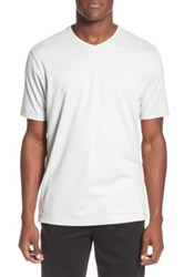 Tommy Bahama 'Palm Cove Lounger' Pima Cotton And Modal V Neck T Shirt Gray