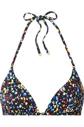 Stella Mccartney Printed Triangle Bikini Top Multi