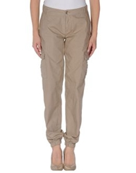 E Go' Sonia De Nisco Casual Pants Light Brown