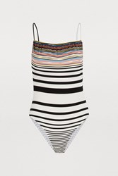 Missoni Striped Swimsuit Multi