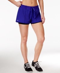 Ideology 2 In 1 Shorts Only At Macy's Blazing Purple
