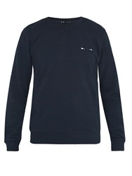 The Upside Redford Cotton Sweatshirt Navy