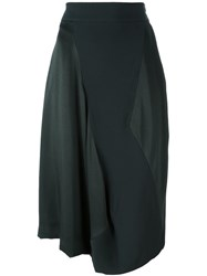 Vivienne Westwood Red Label Contrast Detail Mid Length Skirt Grey