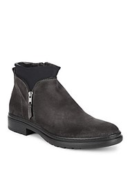 Bacco Bucci Bale Suede Ankle Boots Grey