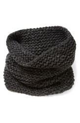 Lafayette 148 New York Hand Knit Metallic Cashmere Tube Scarf