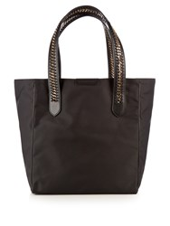 Stella Mccartney Falabella Go Eco Nylon Tote Black