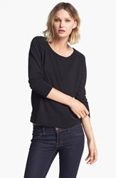 James Perse Women's 'Vintage' Cotton Raglan Pullover