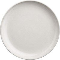 Cb2 Black Clay Dinner Plate