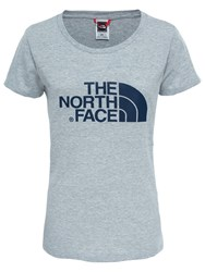 The North Face Easy Short Sleeve T Shirt Light Grey