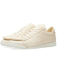 Comme Des Garcons Shirt Enlarged Tongue Sneaker White