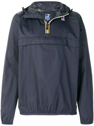 K Way Leon Jacket Blue