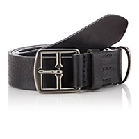 Felisi Men's Leather Belt Black Blue Black Blue