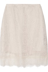 Clu Lace Skirt Nude