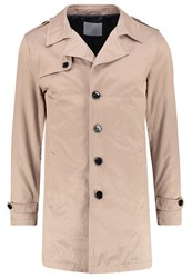 Selected Homme Shdnewadams Trenchcoat Desert Taupe