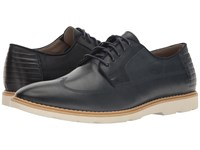 Clarks Gambeson Style Navy Leather Men's Shoes Blue