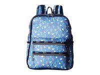 Le Sport Sac Functional Backpack Song Birds Blue Backpack Bags Multi