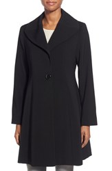 Women's Gallery Single Breasted Wing Collar Nepage Coat