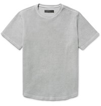 Freemans Sporting Club Cotton Terry T Shirt Gray