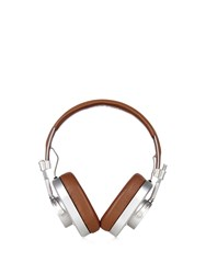 Master And Dynamic Mh40 Leather On Ear Headphones Brown