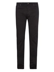 Bottega Veneta Straight Leg Stretch Cotton Trousers