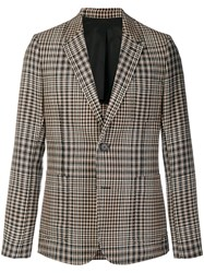 Ami Alexandre Mattiussi Half Lined Two Buttons Jacket Black