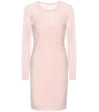 Alexander Wang Cutout Jersey Dress Pink