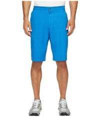 Adidas Ultimate 365 Airflow Textured Grid Shorts Blast Blue Men's Shorts