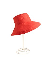 Scala Lightweight Lampshade Hat Coral