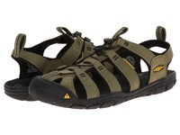 Keen Clearwater Cnx Burnt Olive Black Men's Shoes