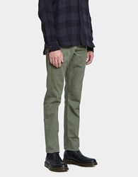 Rogue Territory Work Trouser In Olive Herringbone