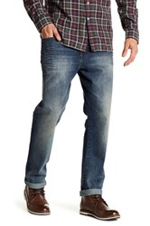 William Rast Memphis Biker Relaxed Tapered Jean Gray
