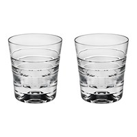 Vista Alegre Vinyl Old Fashion Glass Set Of 2