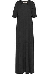 Raquel Allegra Cotton Blend Jersey Maxi Dress