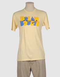 Worn Free Short Sleeve T Shirts Light Yellow