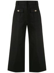 Spacenk Nk Front Pockets Culottes Black