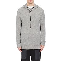 Public School Men's Zipper Detailed Hoodie Grey