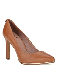 Elliott Lucca Catalina Leather Pumps Brown