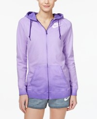 Nike Solstice Boyfriend Zip Hoodie Court Purple