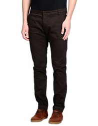 Entre Amis Casual Pants Dark Brown